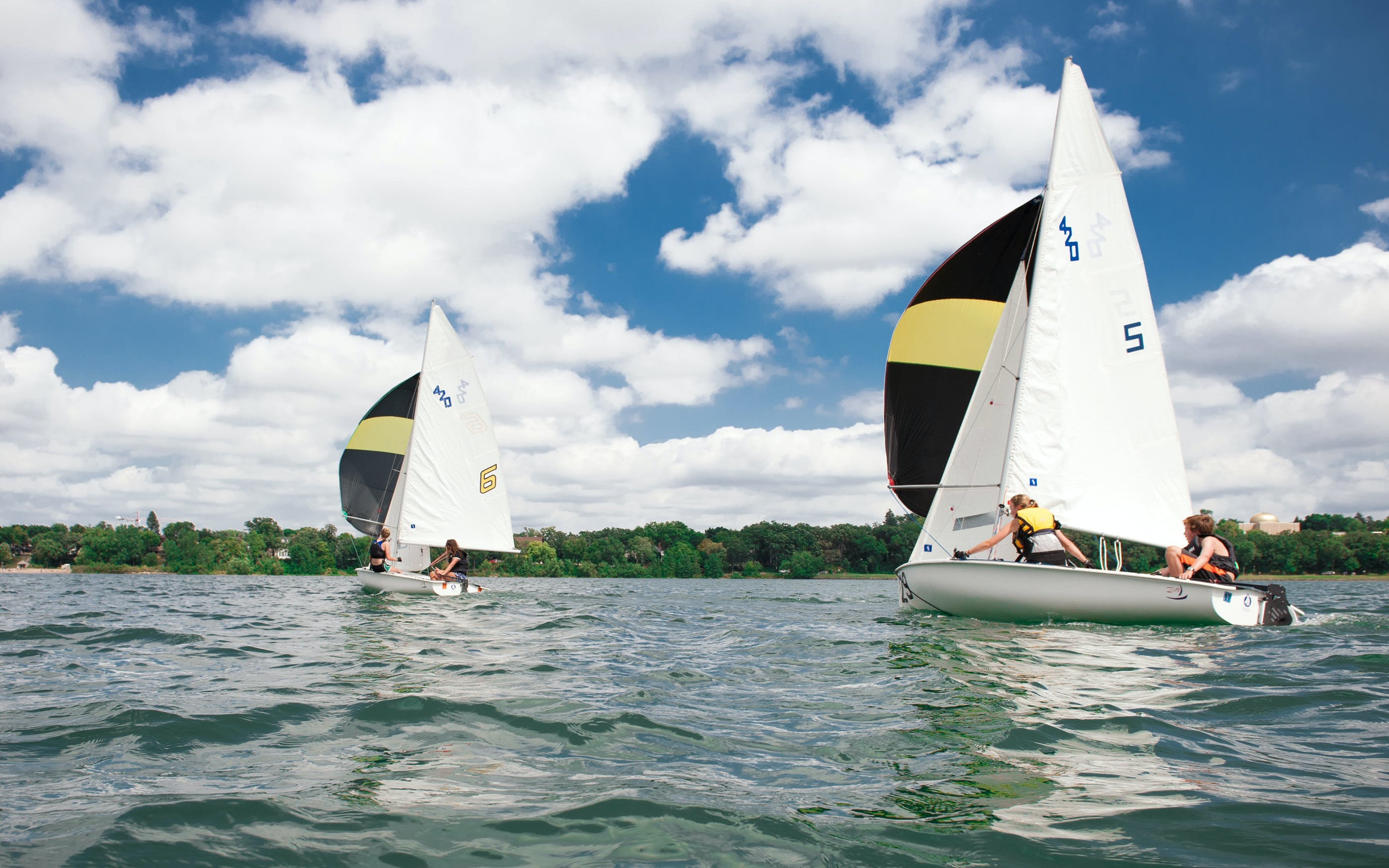 Contemporaries Daniel Buren Sail Boat Race