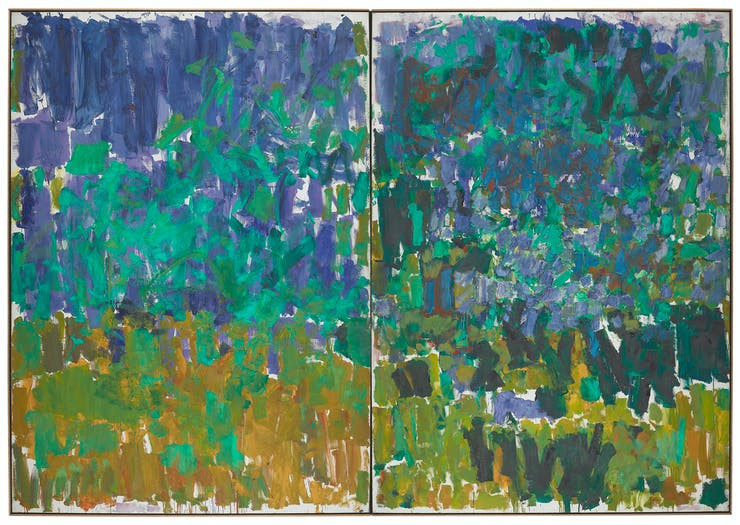 Joan Mitchell, Posted, 1977. Collection Walker Art Center, Minneapolis. Gift of Joanne and Philip Von Blon, 1989. © Estate of Joan Mitchell
