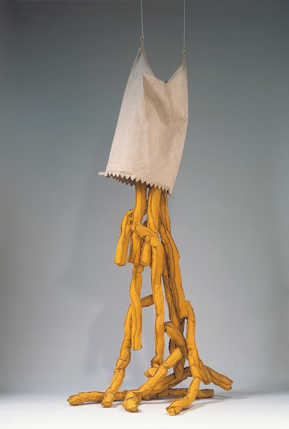 Claes Oldenburg, Shoestring Potatoes Spilling from a Bag, 1966