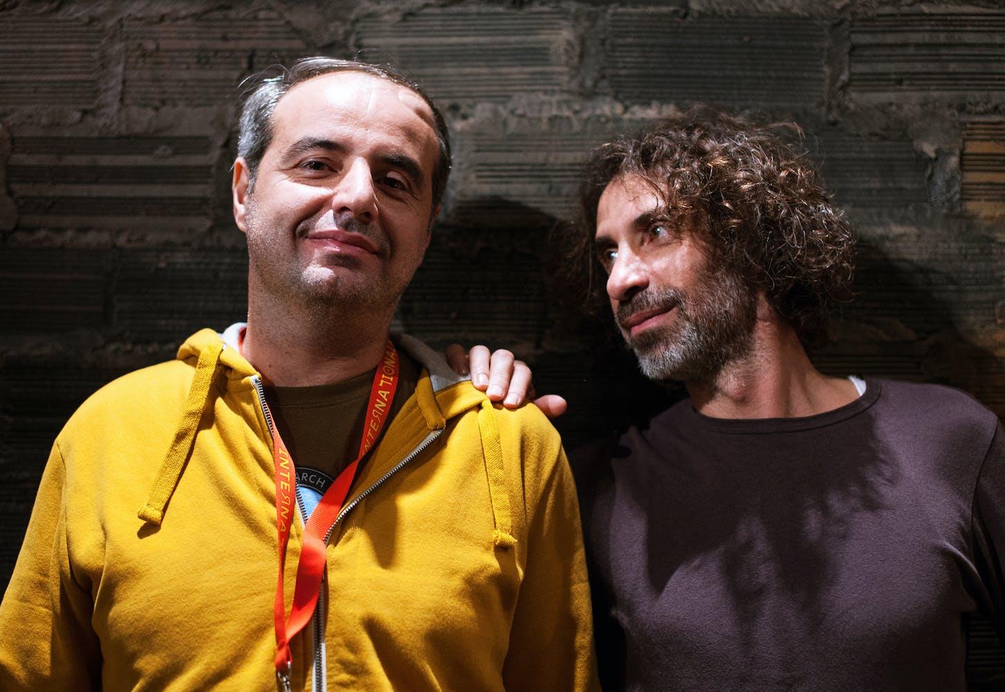 Yasser and Rabih Mroué.