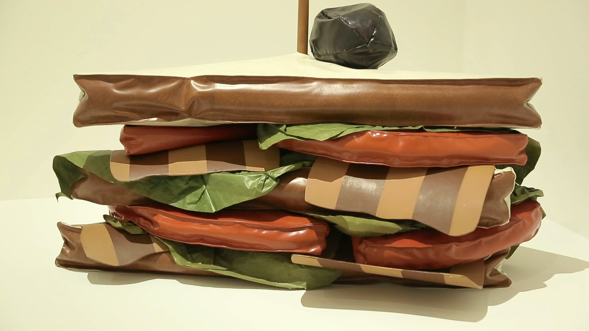 Claes Oldenburg, Giant BLT (Bacon, Lettuce, and Tomato Sandwich), 1963