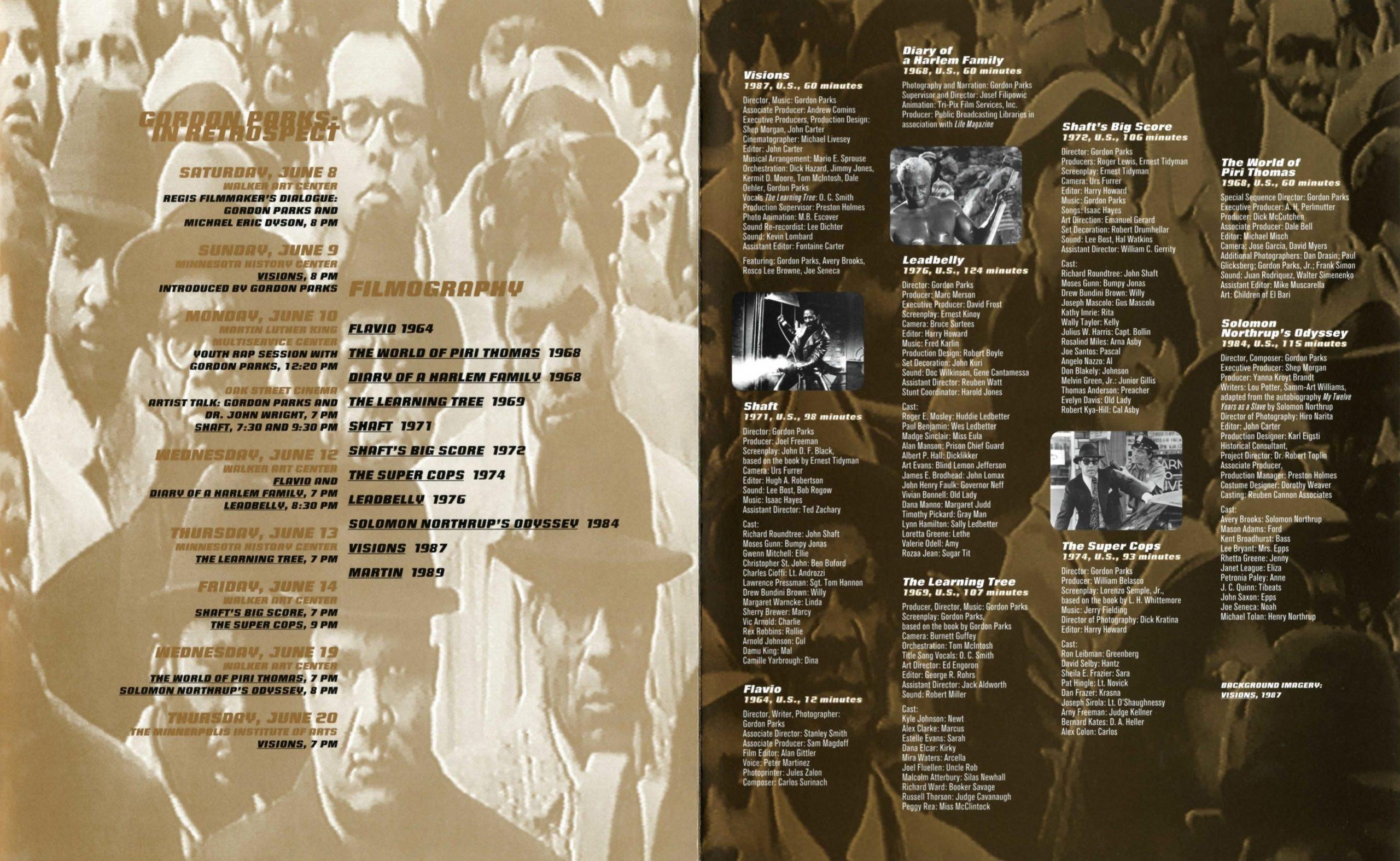 Gordon Parks brochure 3