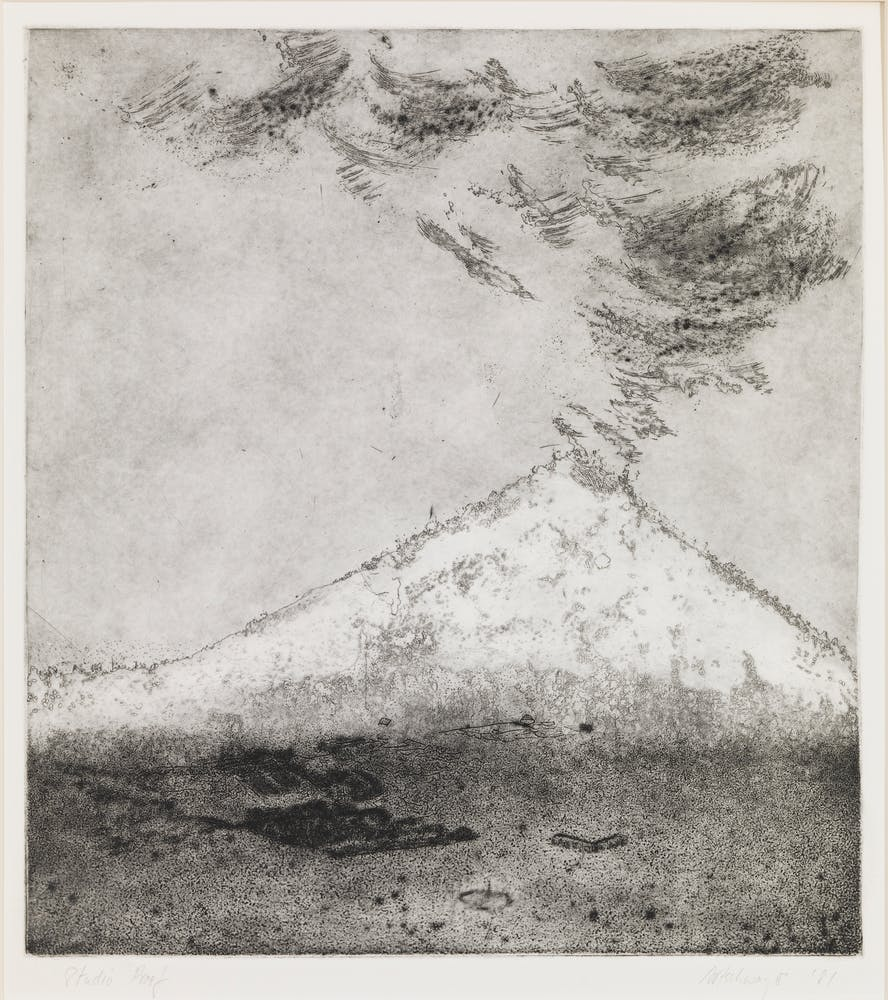 Richard Artschwager, Mount Saint Helens, 1981