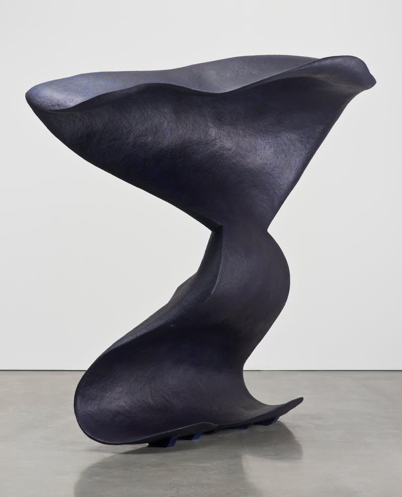 Image of abstract black sculpture