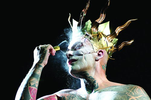 Ron Athey, Solar Anus (1998). Photo: Regis Hertrich