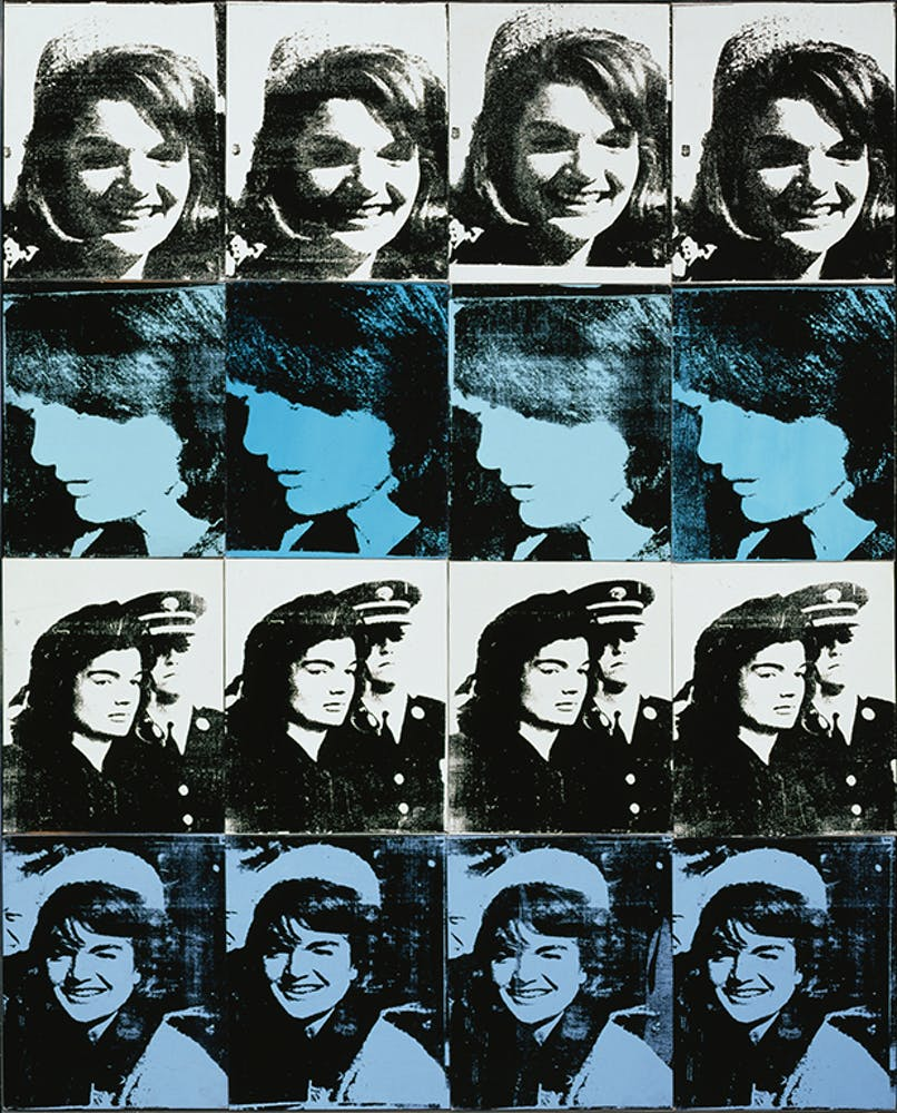 Andy Warhol, Sixteen Jackies, 1964