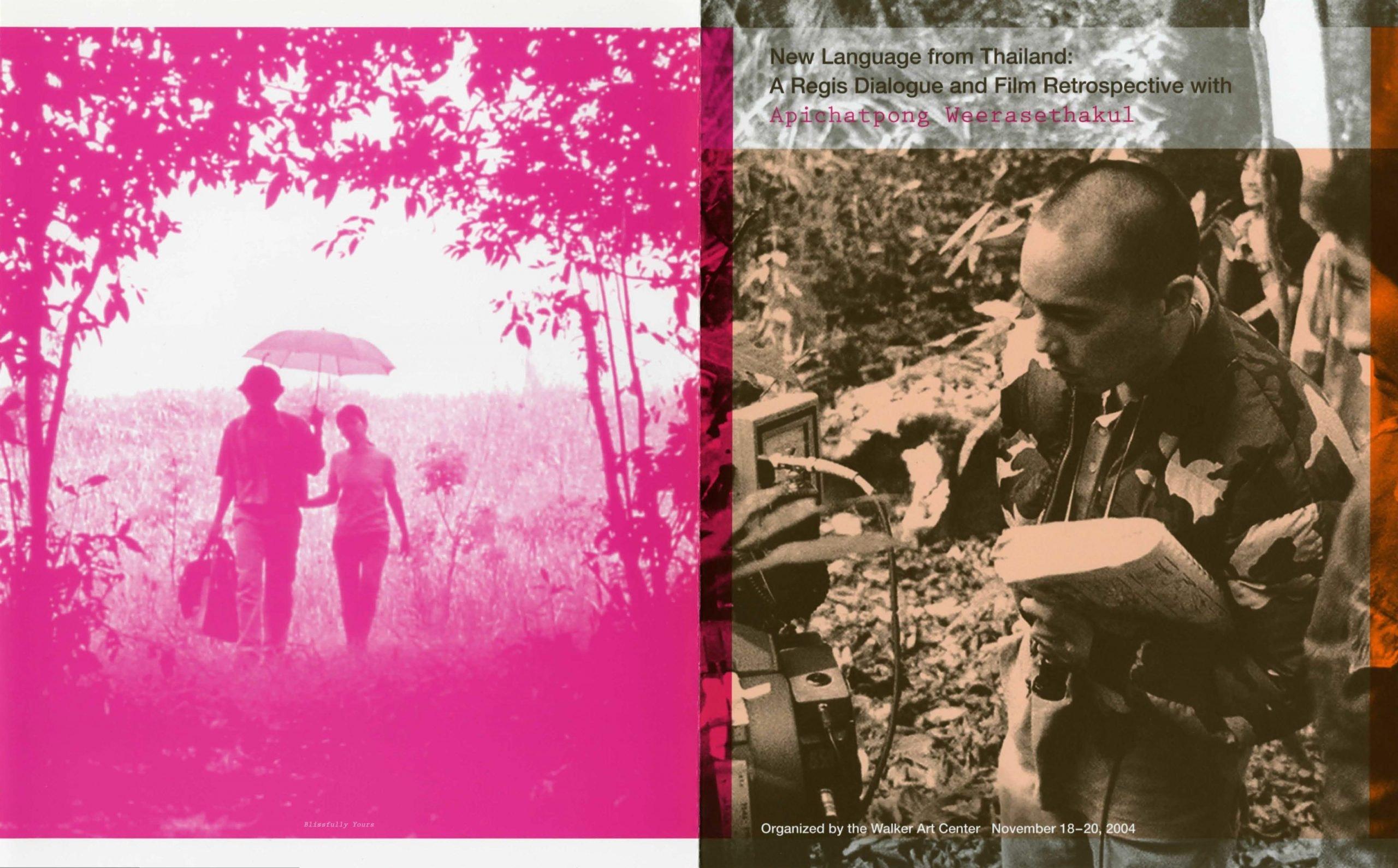 Walker Film Eastwood brochure cover