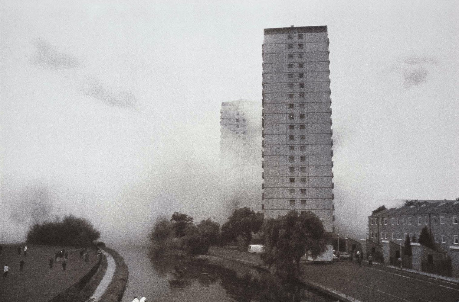Rachel Whiteread, Demolished, 1996