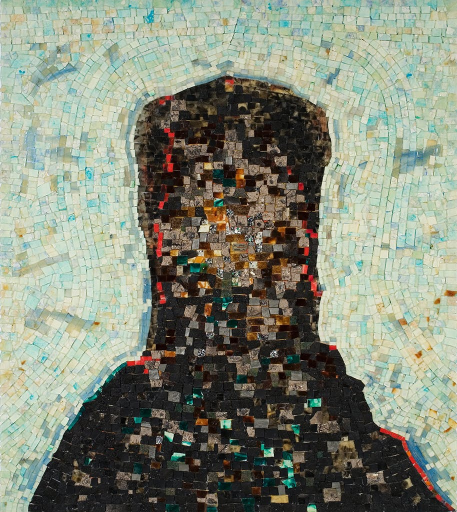 Jack Whitten, Black Monolith, II: Homage To Ralph Ellison The Invisible Man, 1994