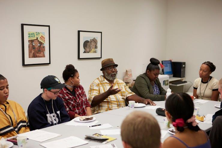 Ta-coumba Aiken - Walker Art Center Teen Arts Council