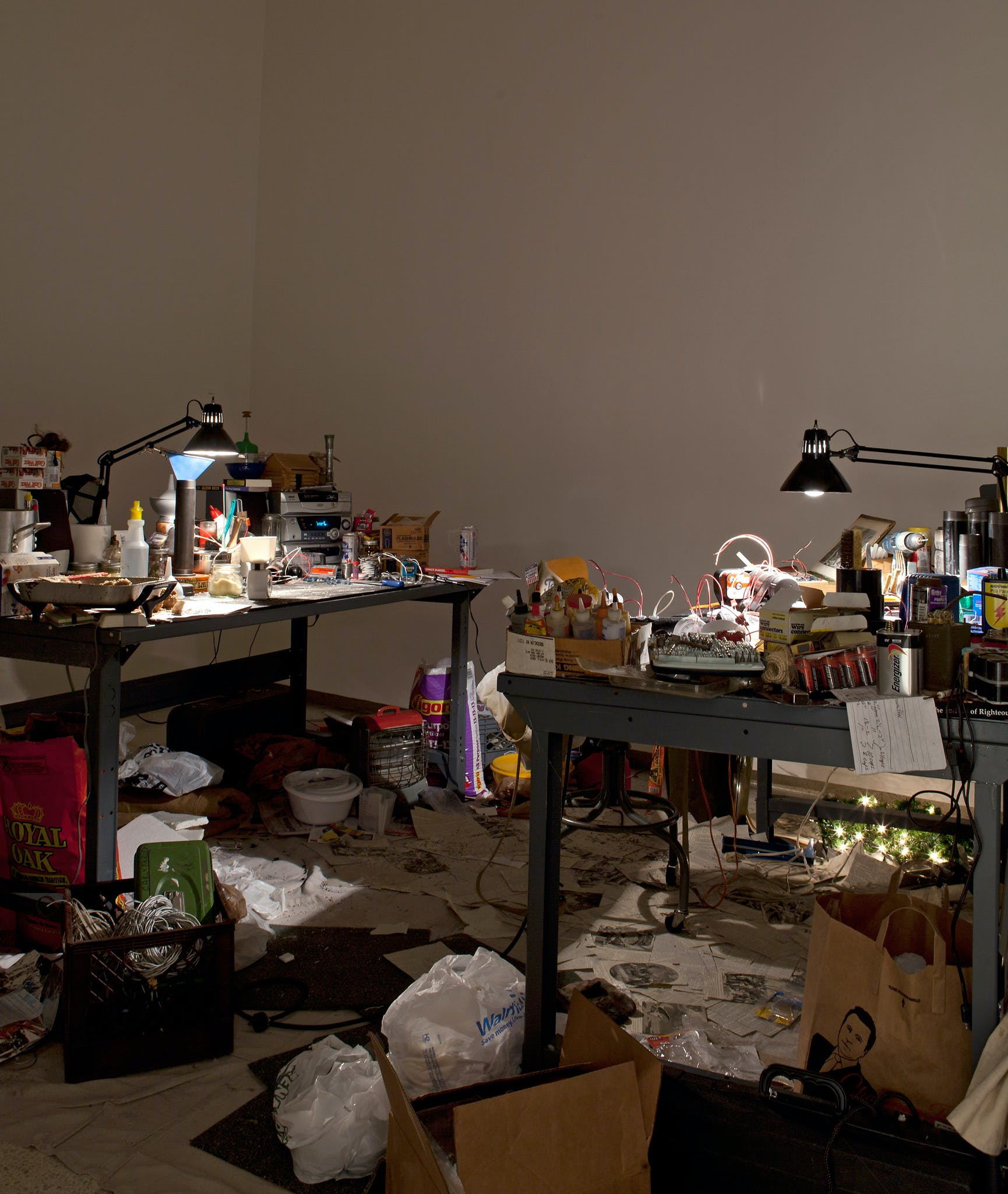 Installation view of the exhibition Absentee Landlord, 2011