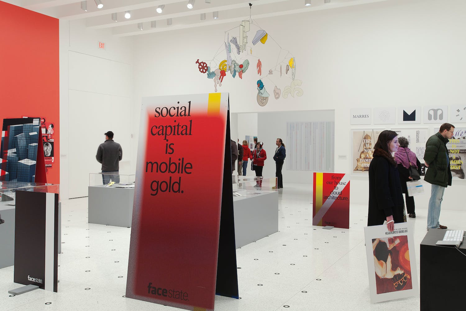 Installation view of the exhibition Graphic Design: Now in Production, 2011 (Photo: Gene Pittman, ©Walker Art Center)