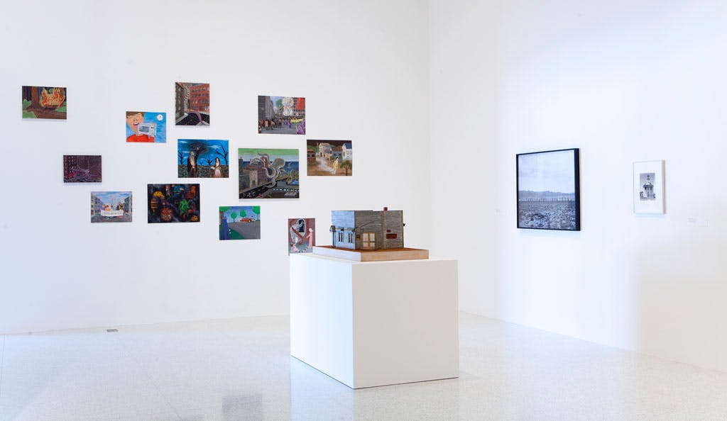 Installation view of The Spectacular of Vernacular