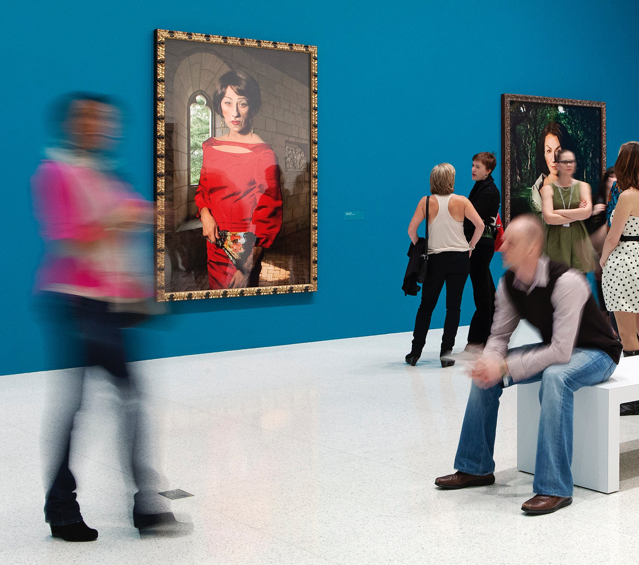 Installation view of the exhibition Cindy Sherman, 2012