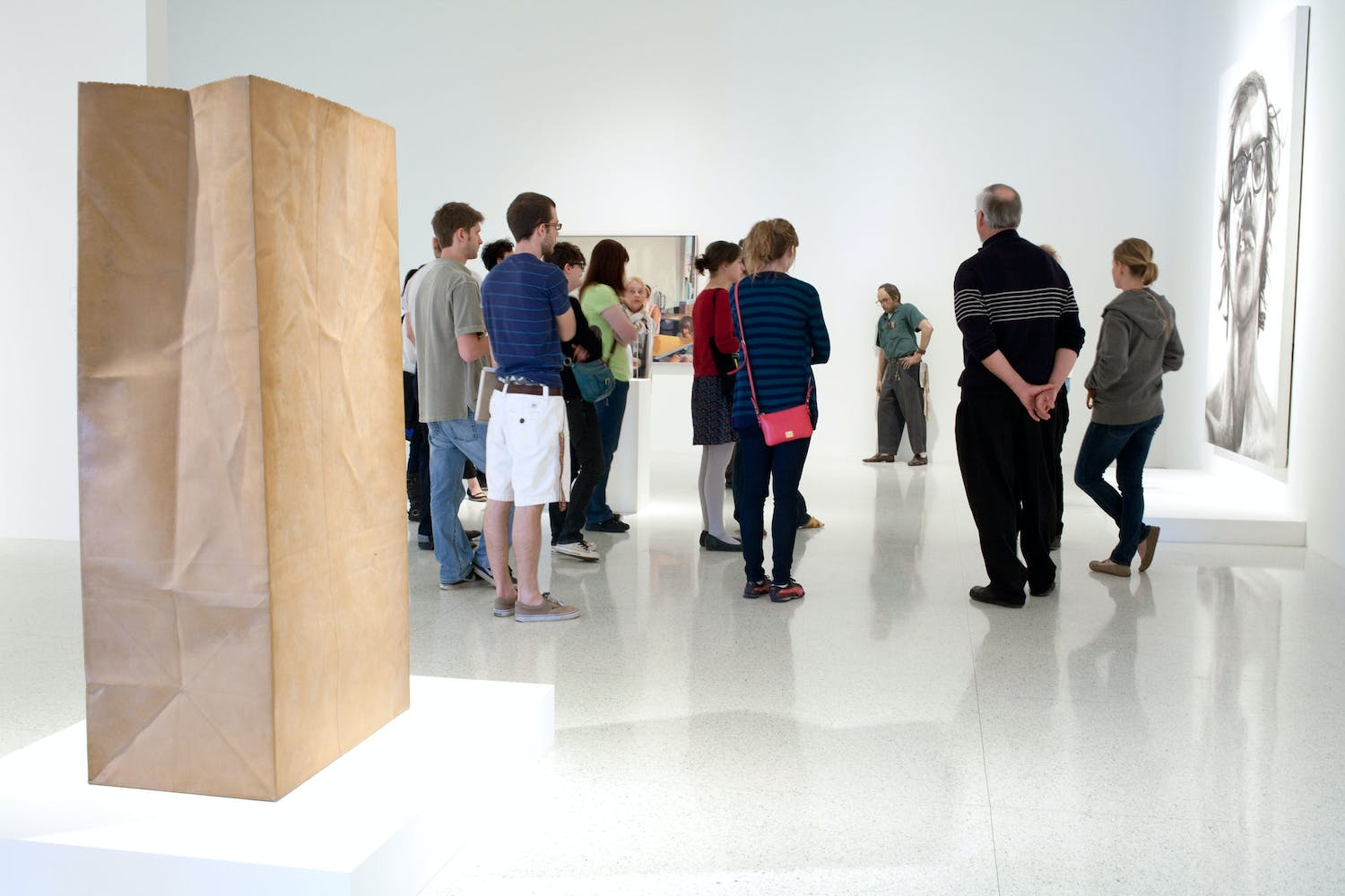 Installation view of the exhibition Lifelike, 2012