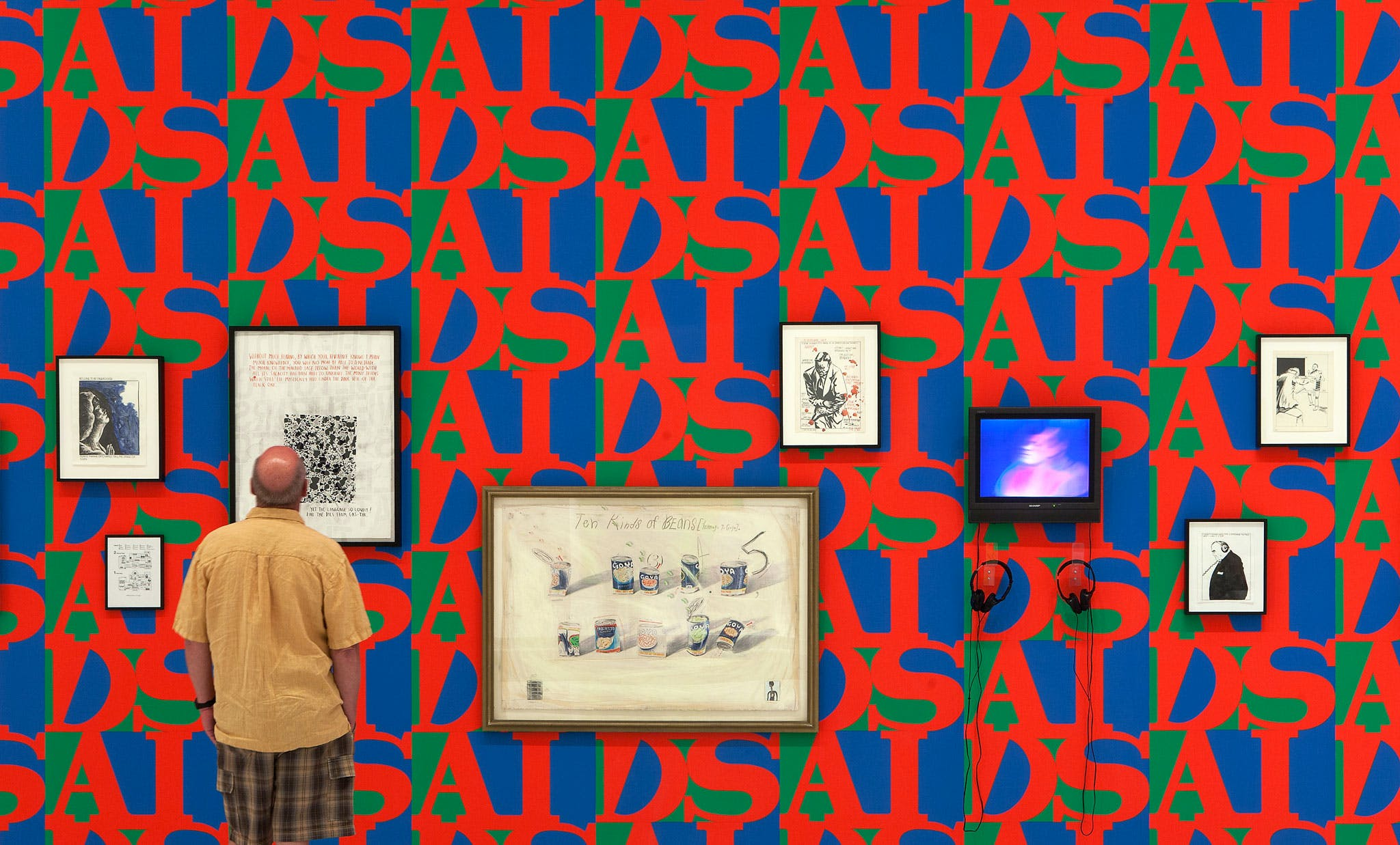 Installation view of the exhibition This Will Have Been: Art, Love & Politics in the 1980s, 2012
