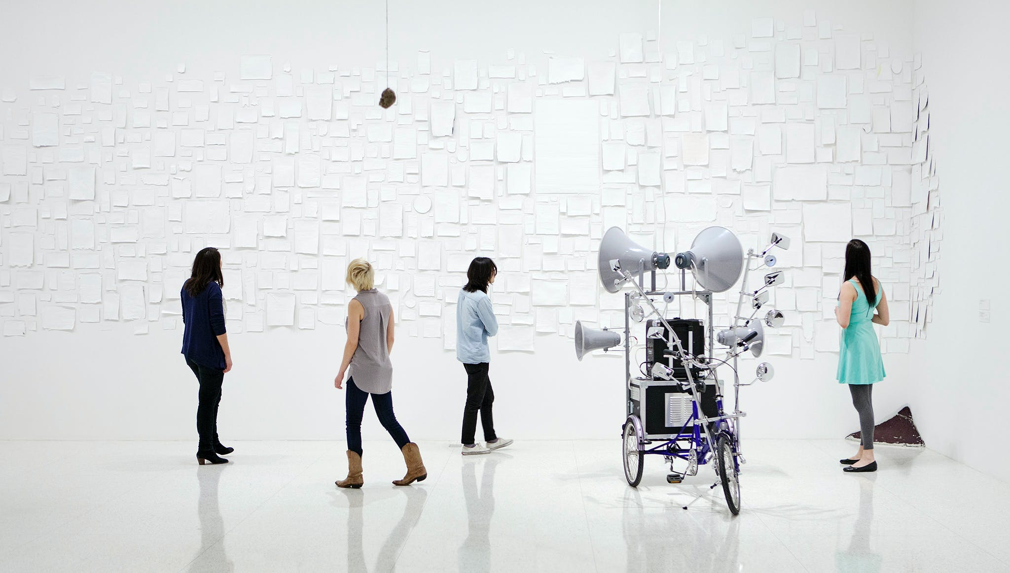 Installation view of the exhibition Abraham Cruzvillegas: The Autoconstrucción Suites, 2013