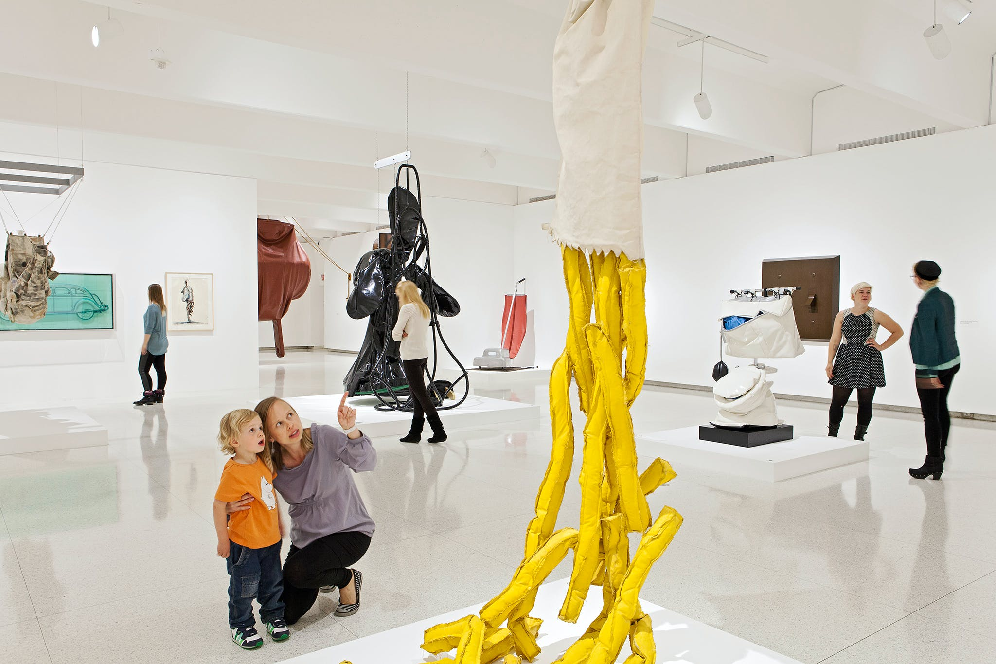 Installation view of the exhibition Claes Oldenburg: The Sixties, 2013