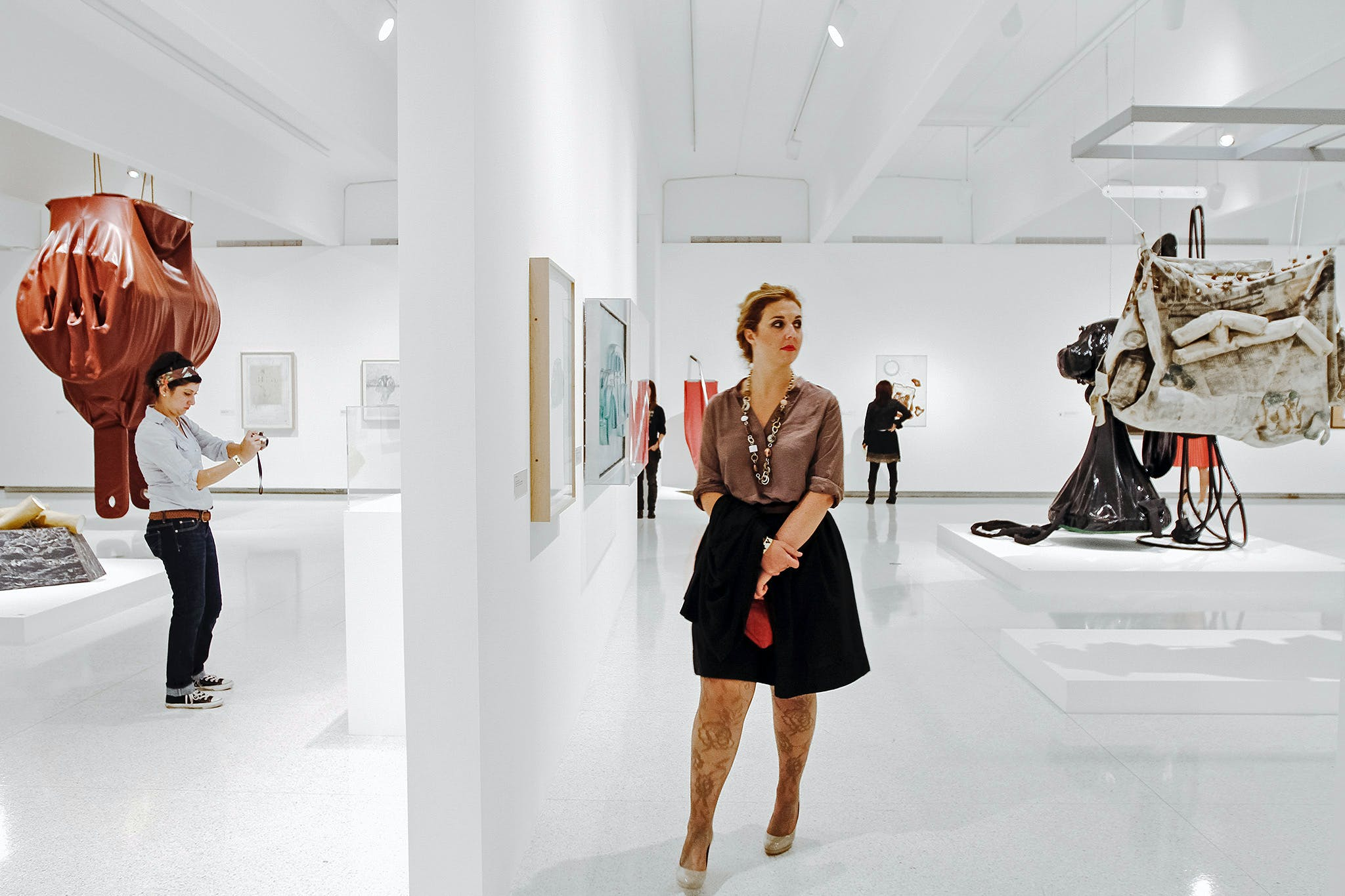 Opening of the exhibition, Claes Oldenburg: The Sixties, 2013