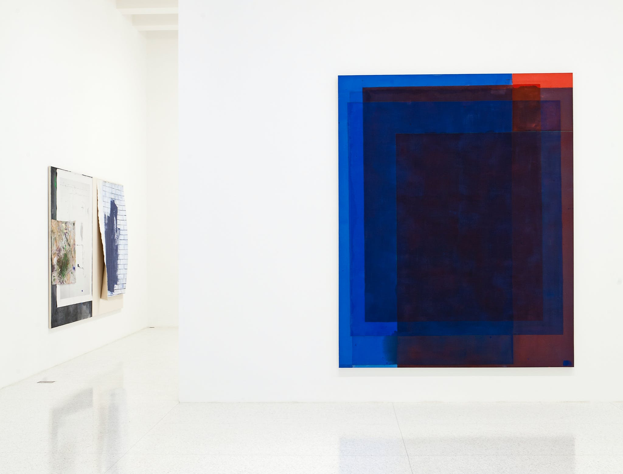 Installation view of the exhibition, Painter Painter, 2013