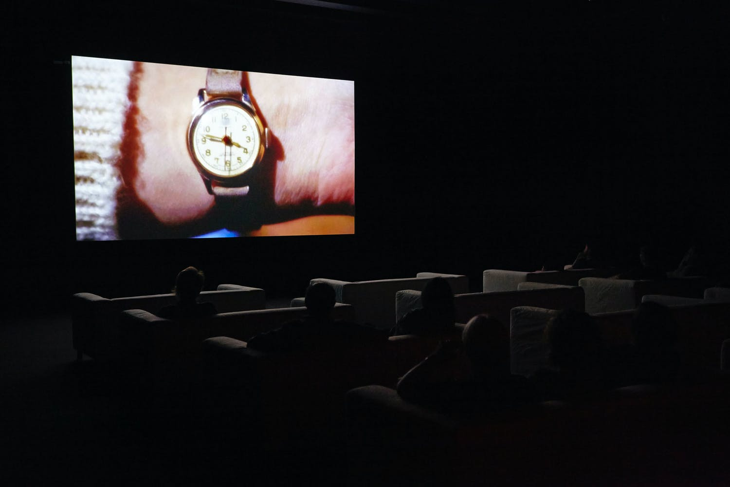 View of the exhibition Christian Marclay: The Clock, 2014