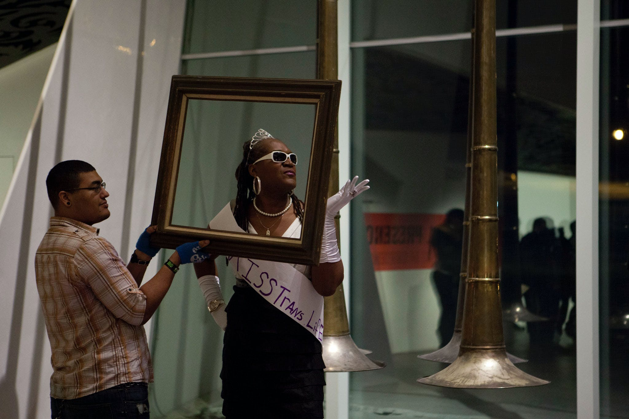Holding Court: Andrea Jenkins, 2014; part of the exhibition Radical Presence: Black Performance in Contemporary Art, 2014