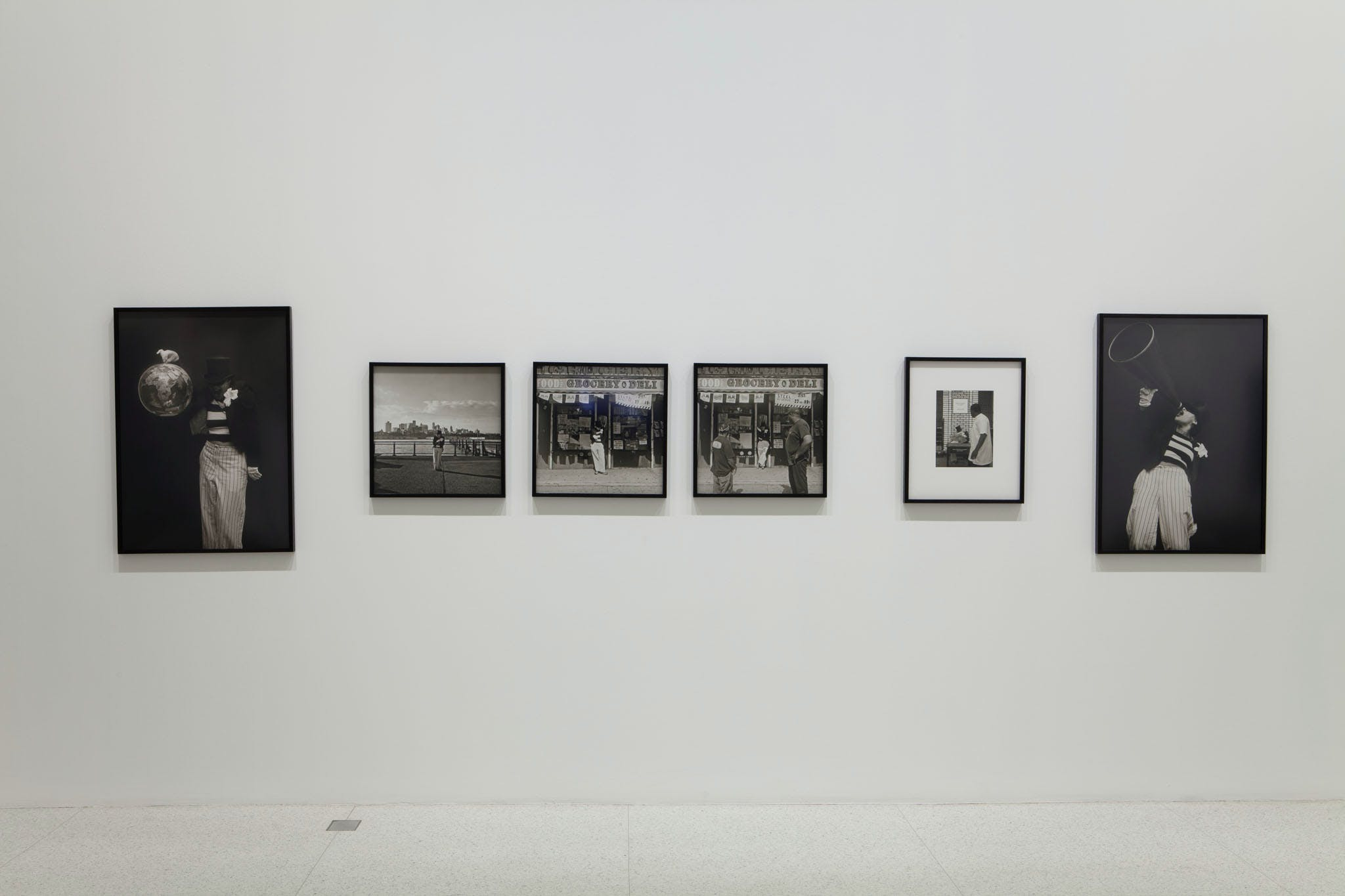 View of the exhibition Radical Presence: Black Performance in Contemporary Art, 2014