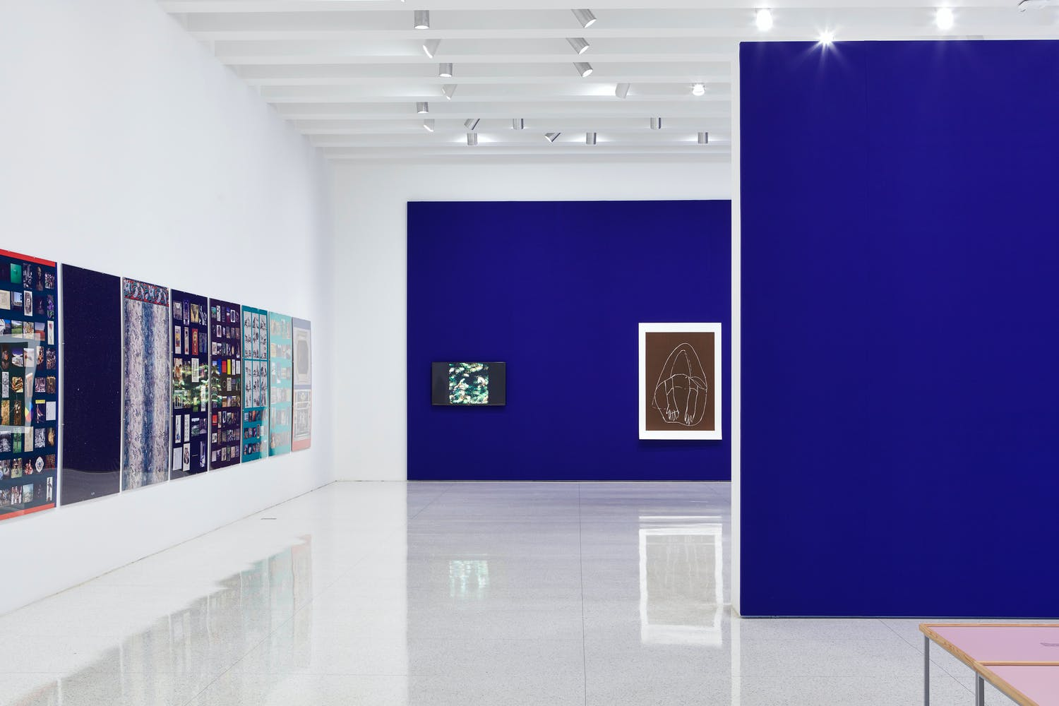 View of the exhibition Andrea Büttner, 2015
