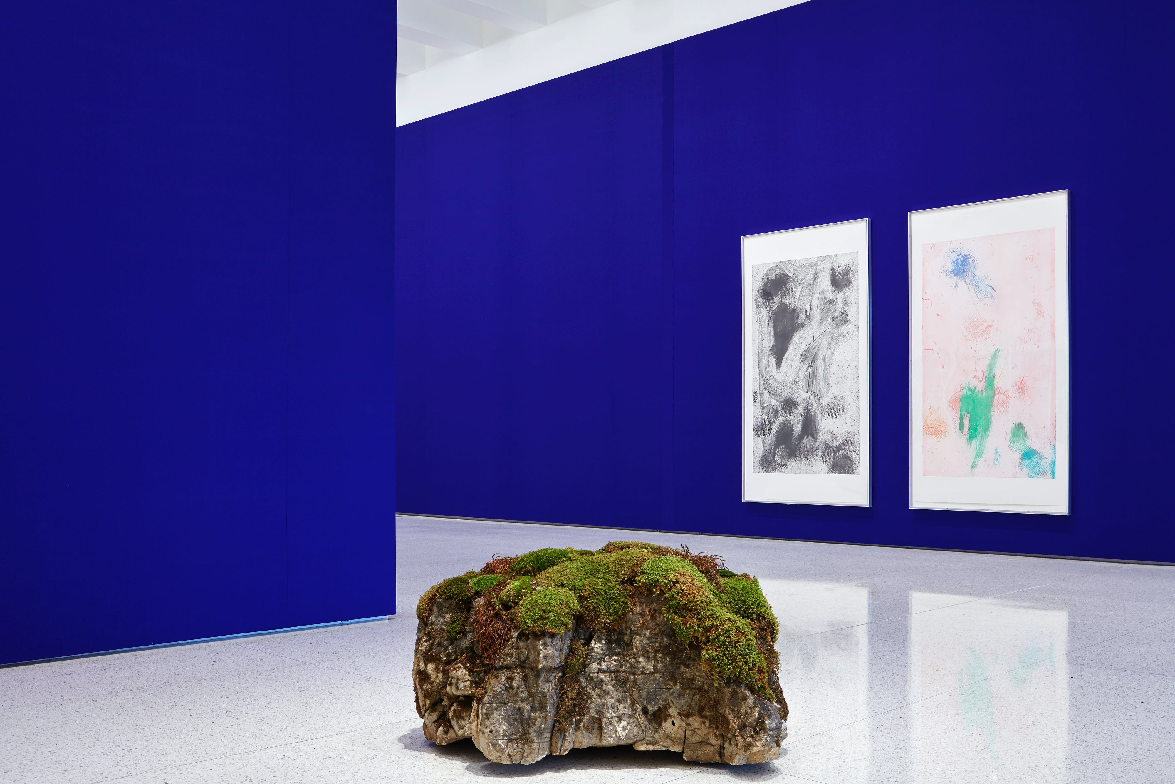 Installation view of Andrea Büttner at the Walker Art Center. Photo: Gene Pittman