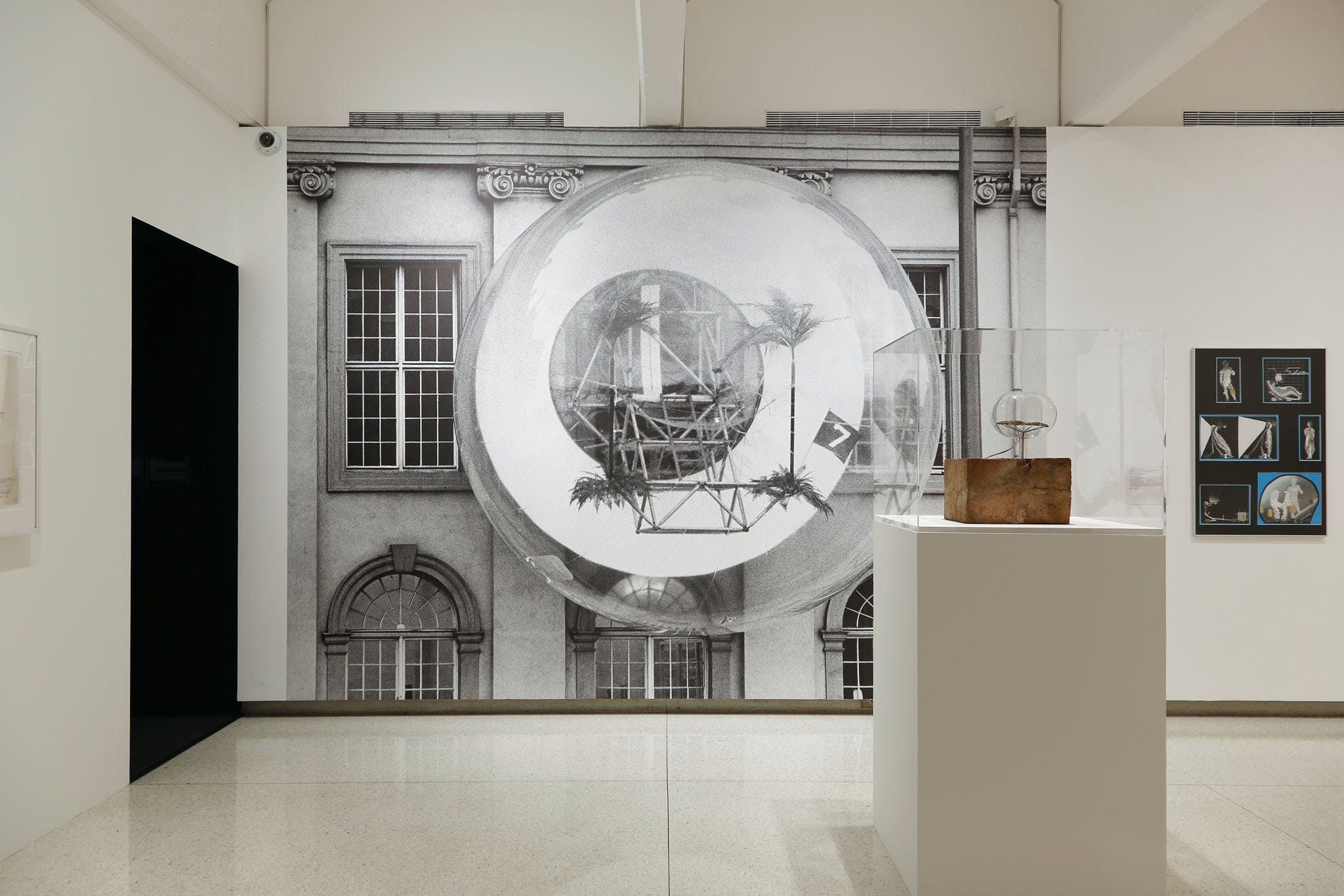 View of the exhibition Hippie Modernism: The Struggle for Utopia, 2015