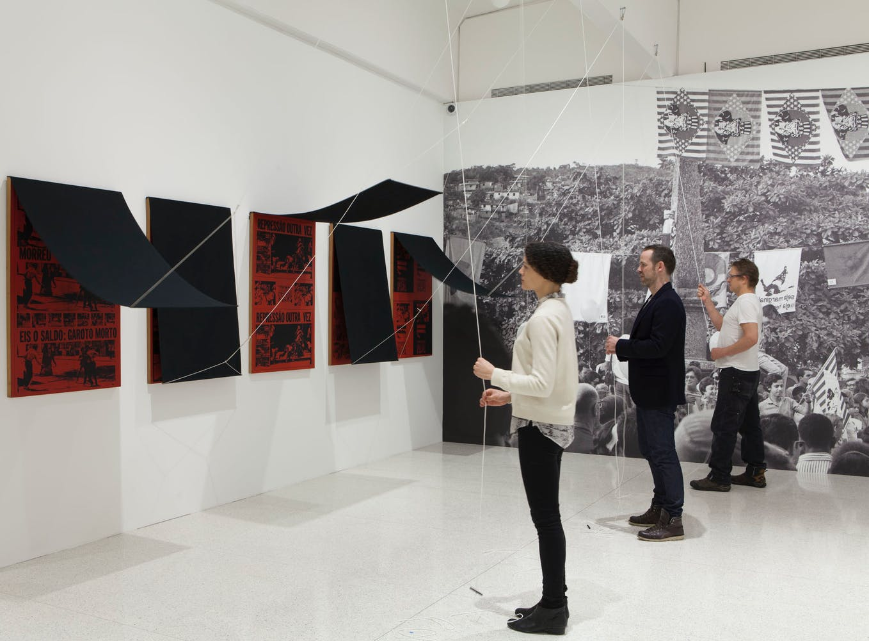 View of the exhibition International Pop, 2015; Antonio Manuel, Repressão outra vez-Eis o Saldo (Repression Again-Here Is the Consequence), 1968