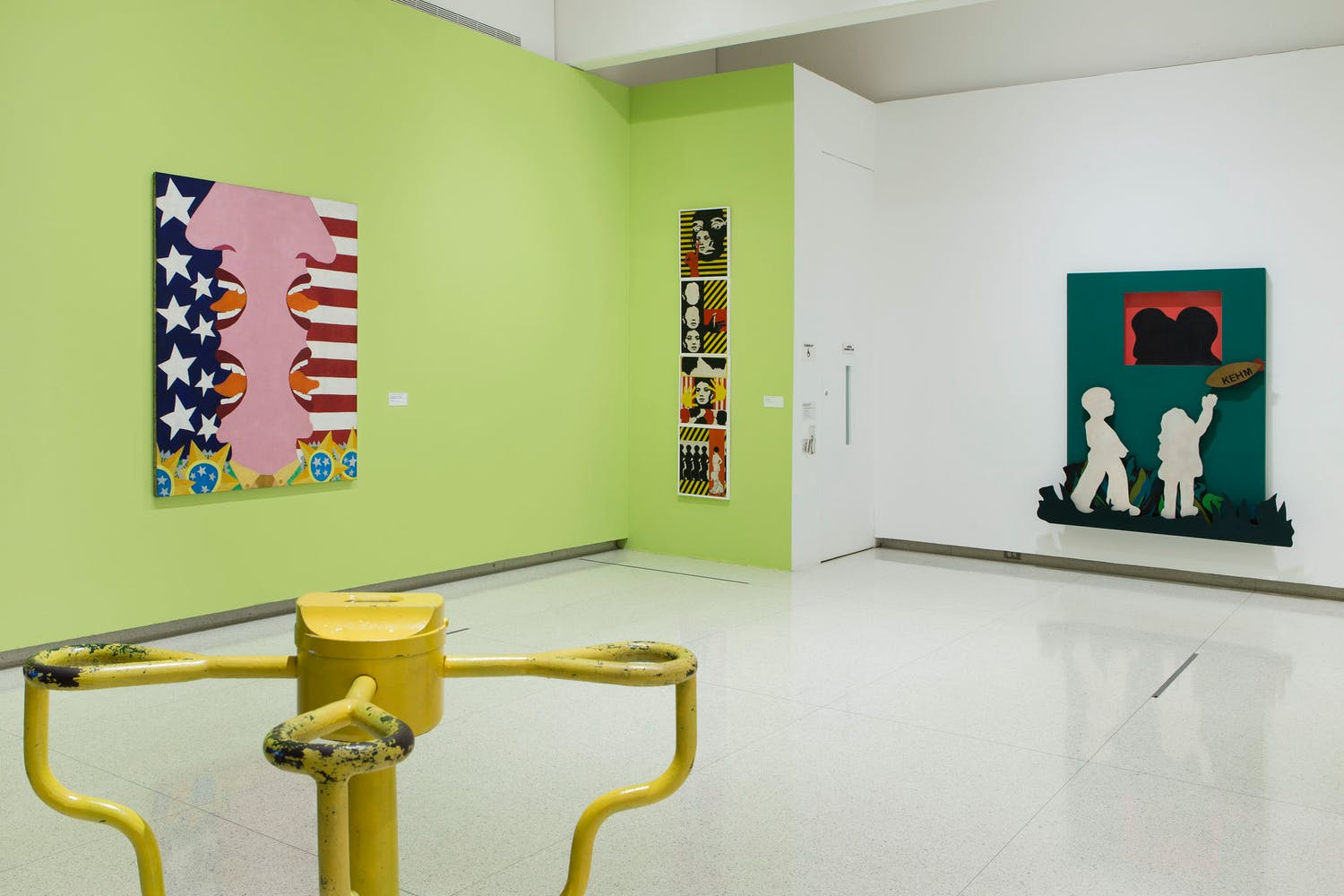 View of the exhibition International Pop, 2015