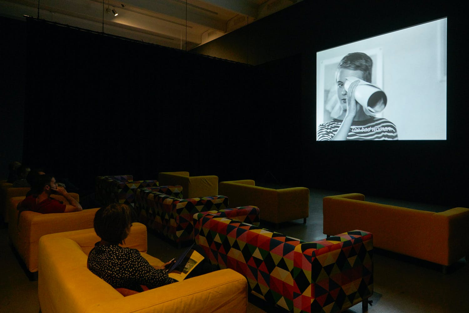 International Pop Cinema, 2015; part of the exhibition International Pop, 2015