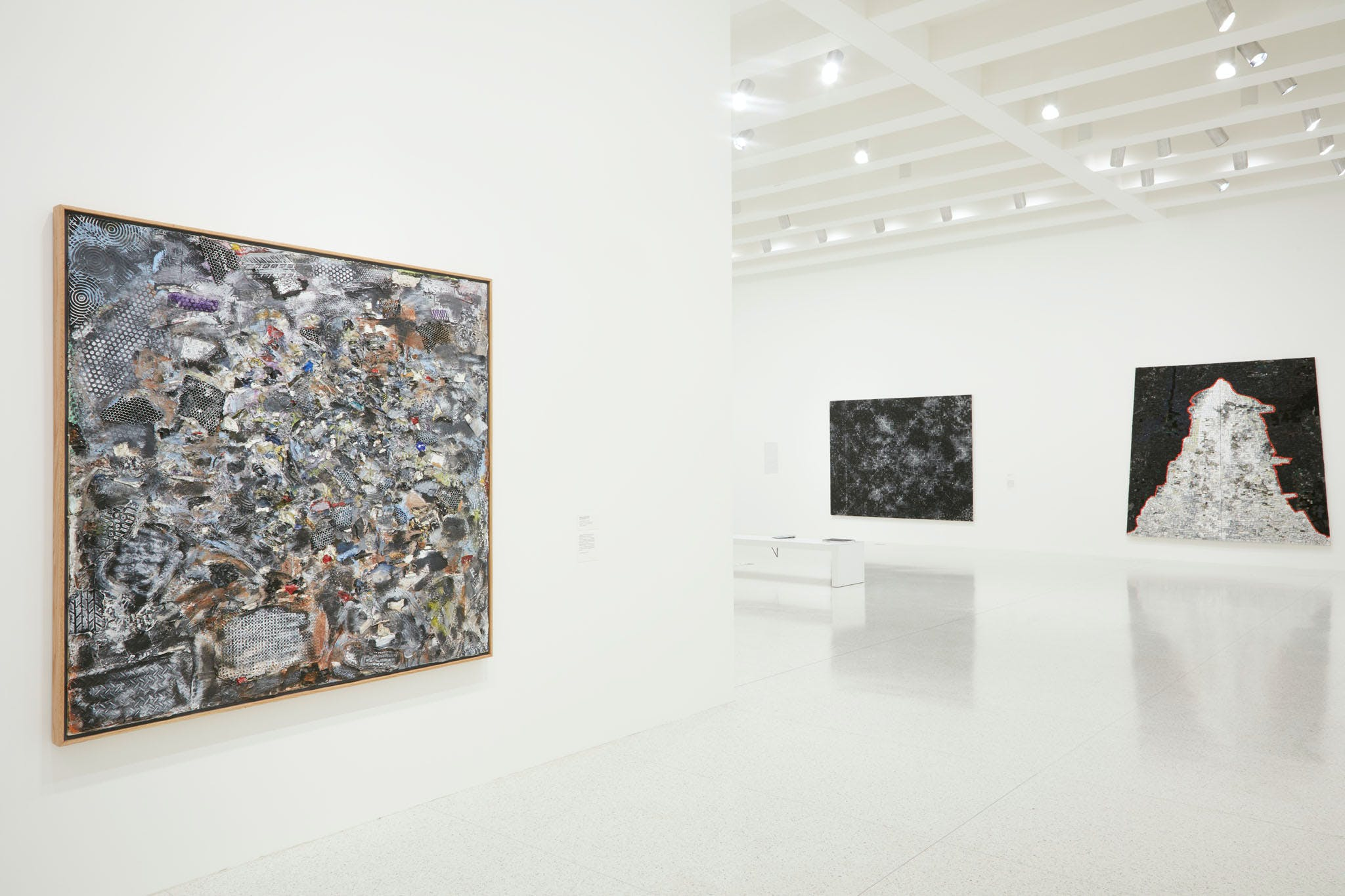 View of the exhibition Jack Whitten: Five Decades of Painting, 2015