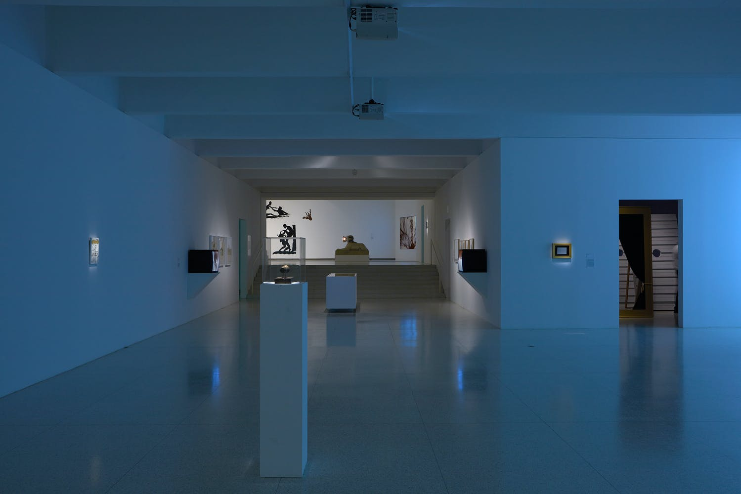 View of the exhibition Less Than One, 2016; Galleries Two and Three (Photo: Gene Pittman, ©Walker Art Center)