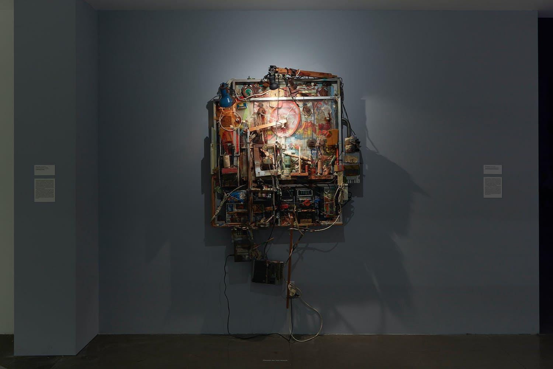 View of the exhibition Less Than One, 2016; Dieter Roth, Tonbild, 1975-1988 (Photo: Gene Pittman, ©Walker Art Center)