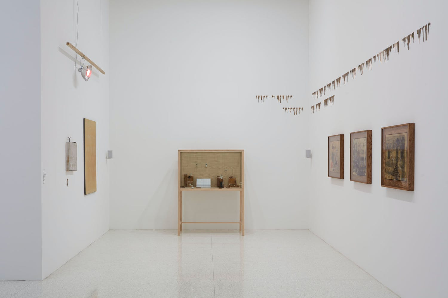View of the exhibition Question the Wall Itself, 2016 (Photo: Gene Pittman, ©Walker Art Center)