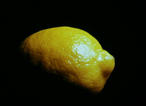 Dimly lit lemon