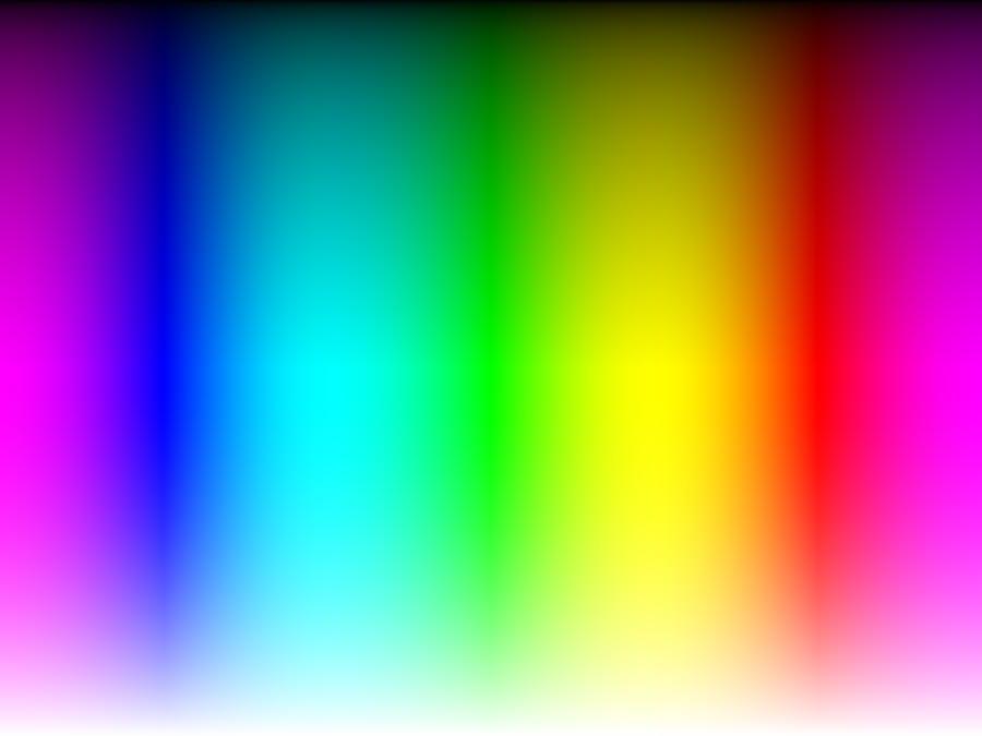 Gradient -- Visible spectrum