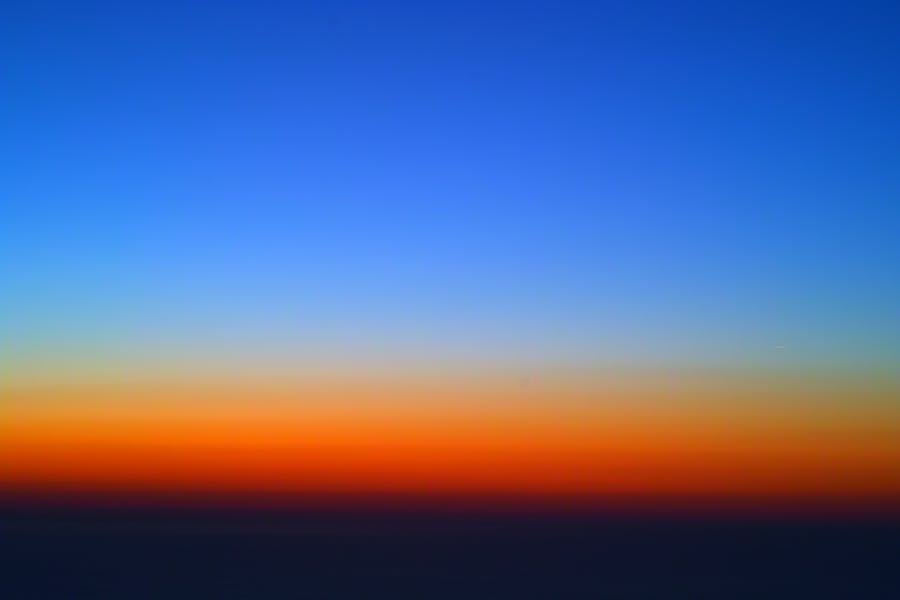 Gradient -- diffuse sky radiation -- Rayleigh scattering