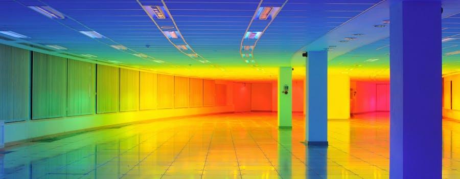 Gradient -- Liz West -- light installation