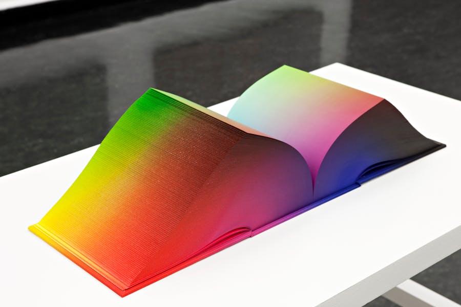 Gradient -- Tauba Auerbach -- RGB Colorspace Atlas