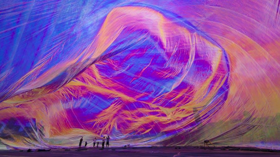 Gradient -- Tomás Saraceno -- Poetic Cosmos of the Breath