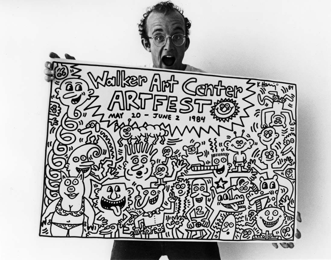 Pop Shop 1 by Keith Haring Coloring Page - Free Coloring Pages Online | 864x1098