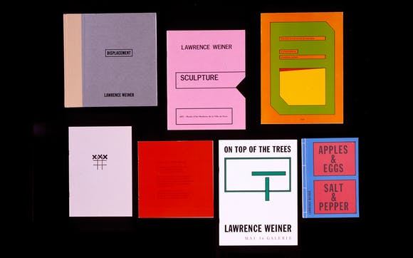 Collection of booklets from Walker library.