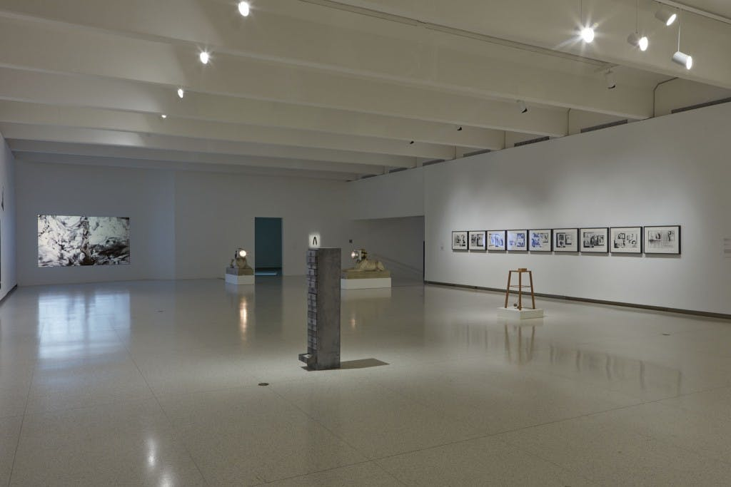 Less Than One Installation view