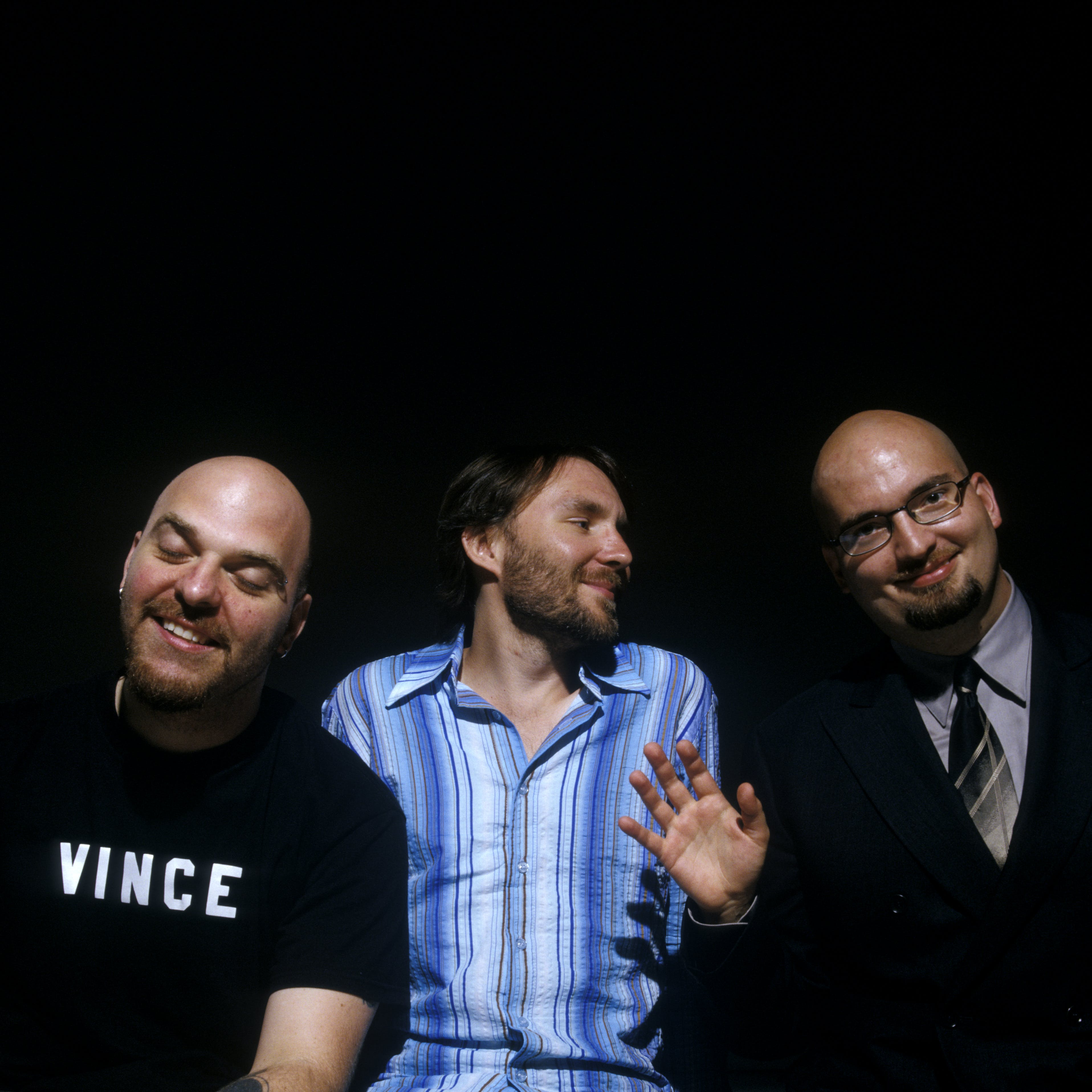 The Bad Plus at the Walker Art Center, 2005. Photo: Cameron Wittig