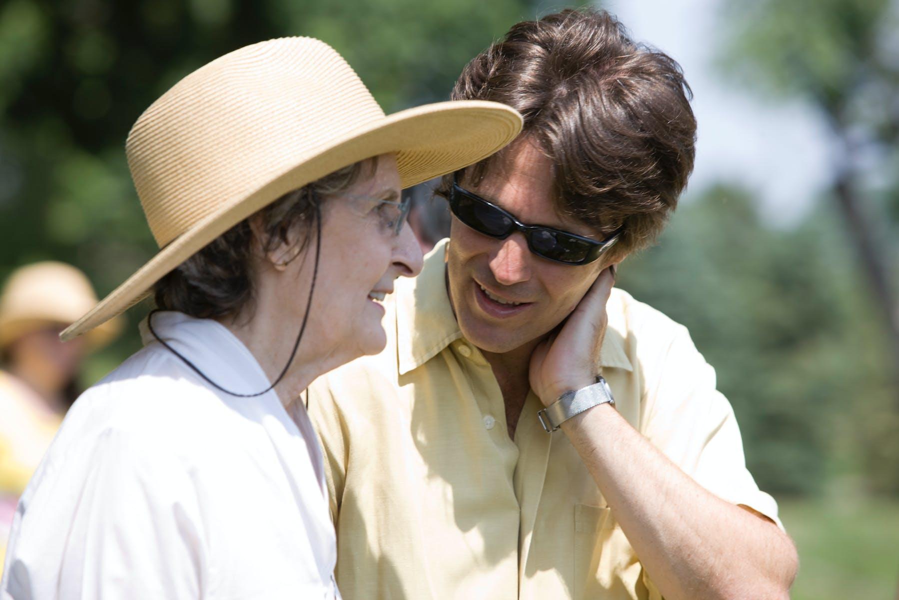 Trisha Brown with Philip Bither, 2008