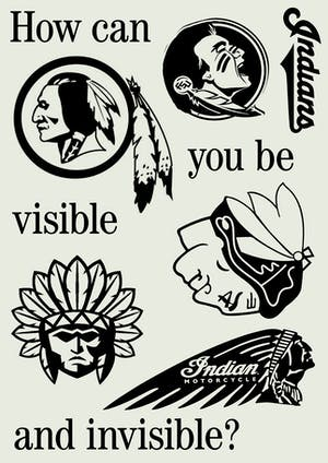 How can you be visible and invisible?