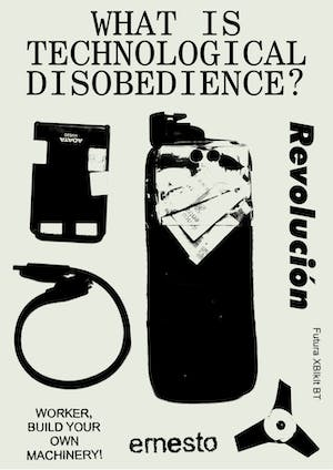 What is technological disobedience?